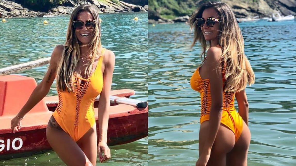 L'ex fidanzata di Cassano e Panucci fa impazzire i suoi follower su Instagram con i suoi scatti sexy