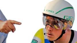 Vuelta: 16/a tappa, Dennis vince crono