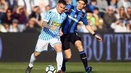 Serie A Spal, trauma contusivo per Viviani: da valutare