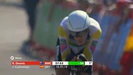 Vuelta, 16ª tappa - Dennis re indiscusso della crono