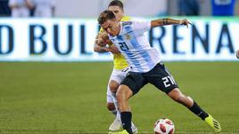 Argentina all'asciutto contro Colombia