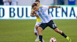 Argentina, 0-0 con la Colombia: a secco Icardi e Dybala