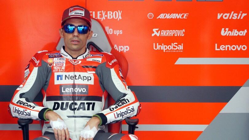 MotoGp Ducati, Pirro: «In gara ho fatto un po' fatica»