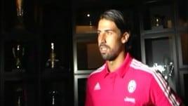 Juventus, Khedira rinnova