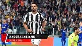 Juventus, Khedira rinnova fino al 2021