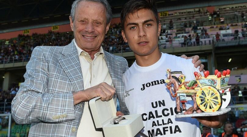 Zamparini: «Dybala a gennaio in Liga o Premier»