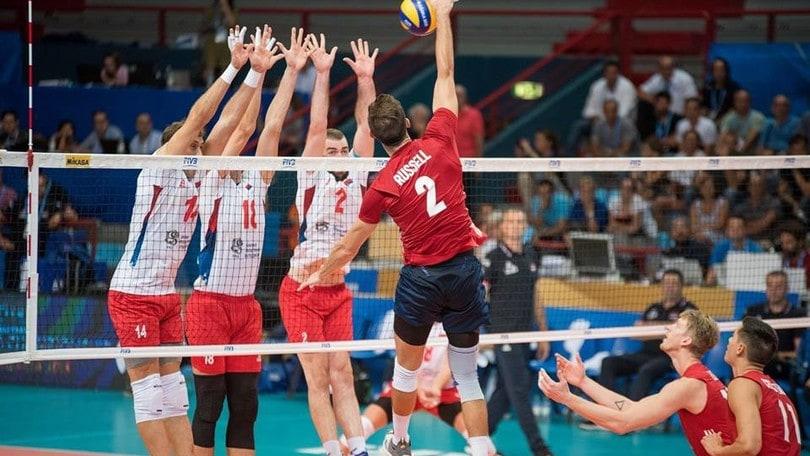 Volley: Mondiali 2018, nella prima giornata gli Usa battono in volata la Serbia