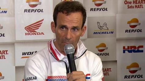 MotoGp Honda, Puig: «Bene il vantaggio, ma i nostri concorrenti si avvicinano»
