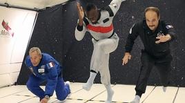 Bolt spaziale, vince uno sprint su un aereo privo di gravità