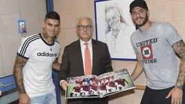 Roma, Perotti e Santon campioni di solidarietà