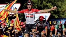Vuelta, Wallays vince a Lleida: Yates resta leader
