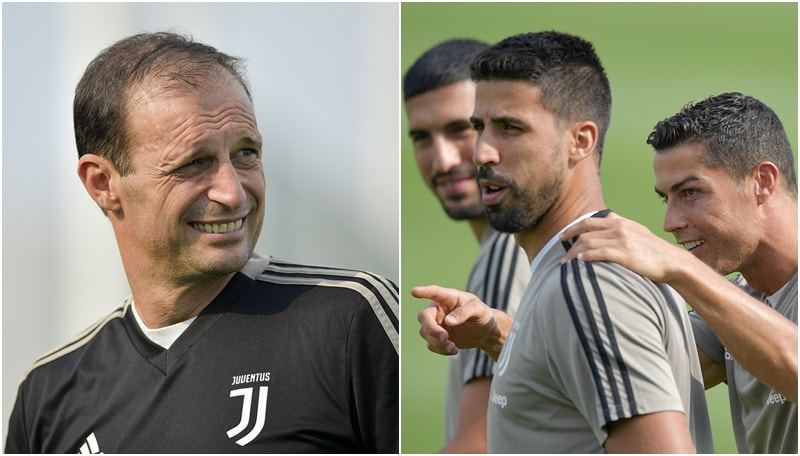 Juventus, Allegri riabbraccia i nazionali e intensifica per il Sassuolo