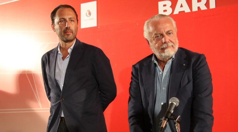 Bari, Luigi De Laurentiis: «Riconquisteremo il pubblico con le vittorie»