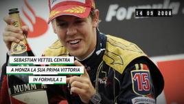 Vettel, 10 anni fa la prima vittoria in F1