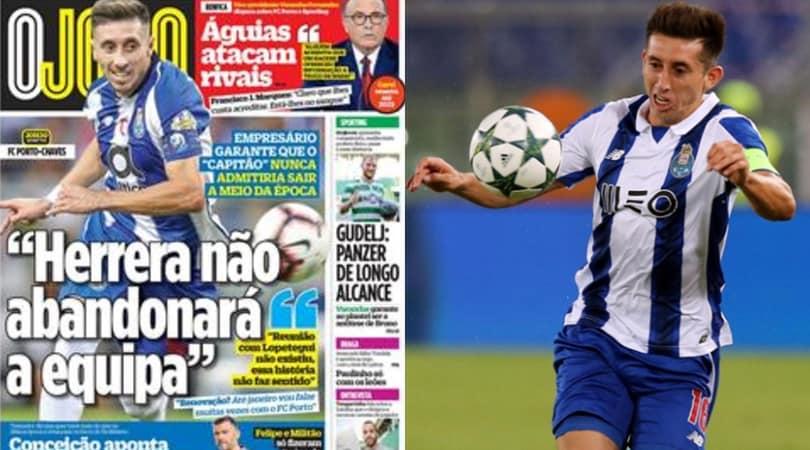 Dal Portogallo: «Herrera resta al Porto»