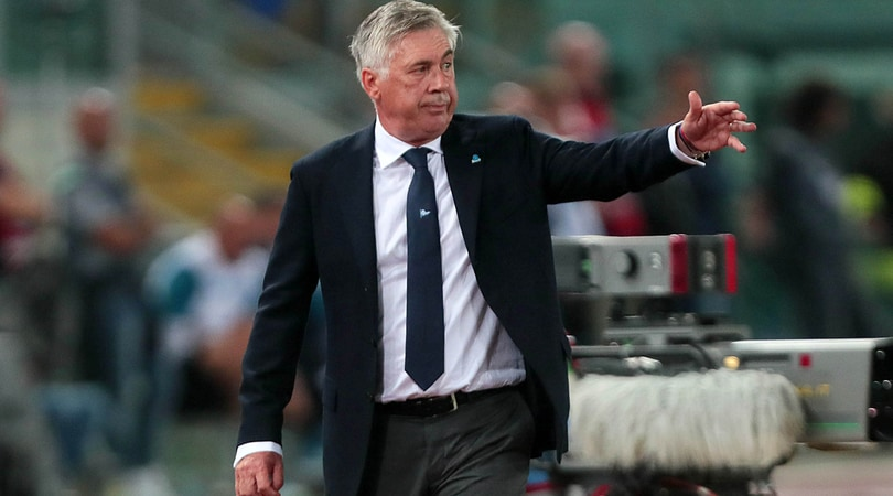 Napoli, Ancelotti: «Difesa falso problema. Mertens-Milik? Non ho deciso»