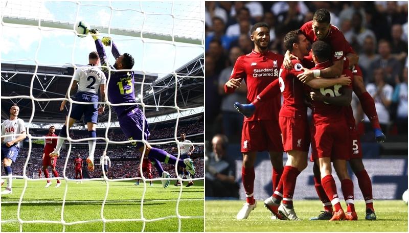 Il Liverpool supera il Tottenham per 2-1 e tenta la fuga