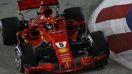 F1 Singapore: quote in salita per la Ferrari