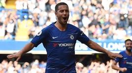 Chelsea, triplo Hazard e Willian. Sarri riagguanta il Liverpool
