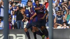Il Barcellona vince ancora: 2-1 in rimonta sulla Real Sociedad