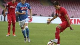 Serie A Napoli-Fiorentina 1-0, il tabellino