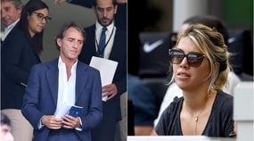 L'Inter crolla in casa davanti gli occhi increduli di Mancini e Wanda Nara