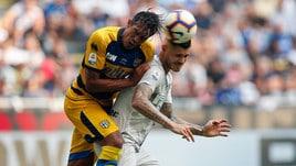 Diretta Parma-Inter ore 20.30: formazioni ufficiali e dove vederla in tv
