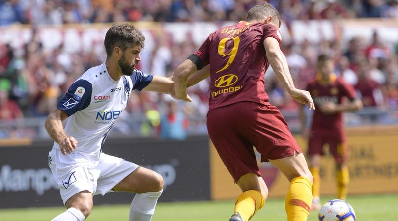 Serie A, Chievo-Roma 0-3: El Shaarawy, Dzeko e Kolarov show
