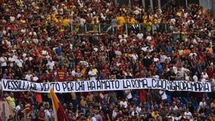 Roma, i tifosi ricordano Maria Sensi