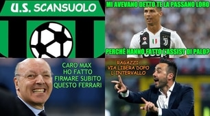 Juve, ecco Ronaldo. Ironia social: «Due gol allo Scansuolo»