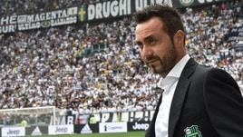 Serie A Sassuolo, De Zerbi: «Nonostante la sconfitta sono molto contento»