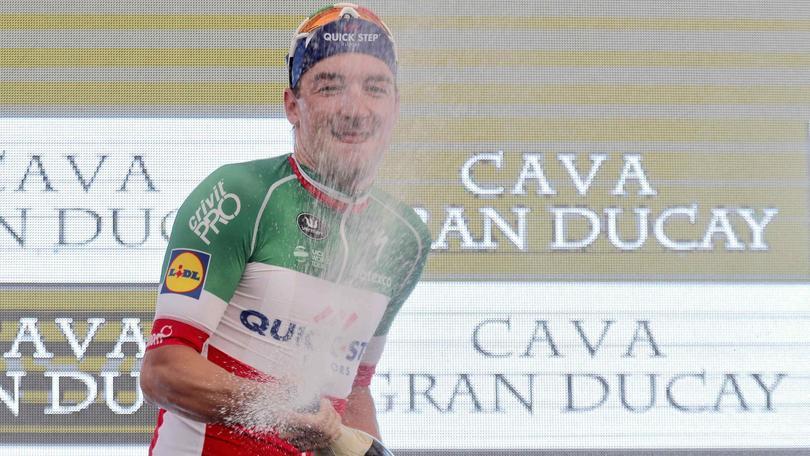 Vuelta: Viviani vince l'ultimo sprint