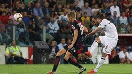 Serie A, Cagliari-Milan 1-1: al 'Diavolo' non basta il primo gol di Higuain