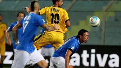 Serie C, Siracusa-Juve Stabia 0-3. Le vespe volano con Paponi, Canotto ed El Ouazni