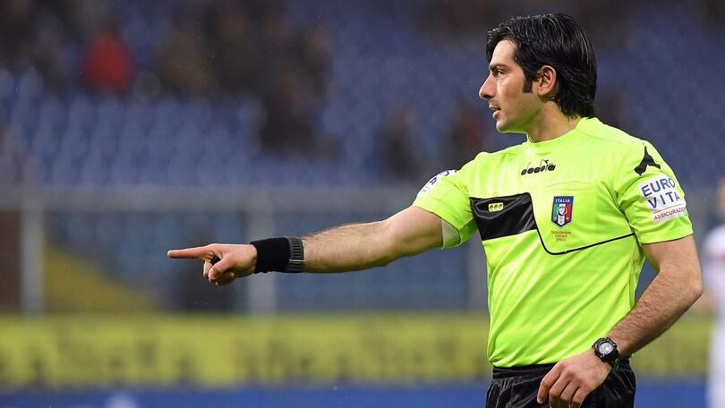 Serie A Sampdoria-Fiorentina, il recupero sarà diretto da Maresca