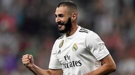Benzema: «Roma? Buona squadra con giocatori molto bravi»