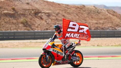 MotoGp, ad Aragon una curva per Marquez