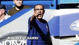 Italiani all'estero, pokerissimo del Chelsea di Sarri