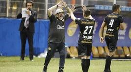 Maradona, poker al debutto: «Dicevano che non sono buono a niente»