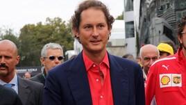 F1, Elkann: «Ferrari rappresenta il meglio dell'Italia»