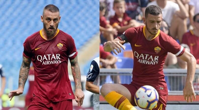 Fascia da capitano non regolare: multati De Rossi, Florenzi e la Roma