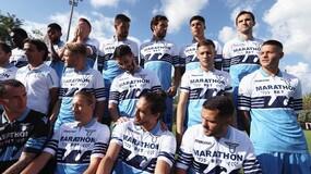 Lazio, tutti in posa per la foto ufficiale