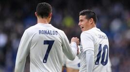 Don Balon:«Ronaldo vuole portare James Rodriguez alla Juventus»