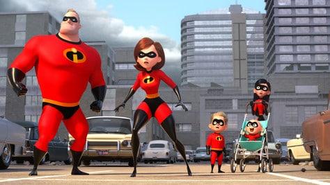 Una famiglia di supereroi
