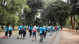 Fitwalking for AIL, che attesa a Roma!