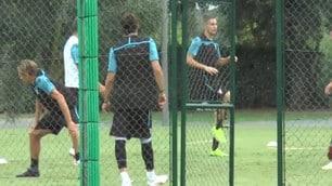 Lazio, concentrata per l'esordio