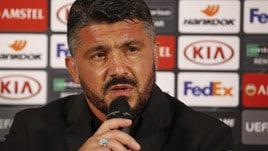 Gattuso: «A Milanello non pettiniamo le bambole!»
