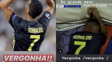 Rosso a Ronaldo, la sorella insorge su Instagram: «Vergogna»
