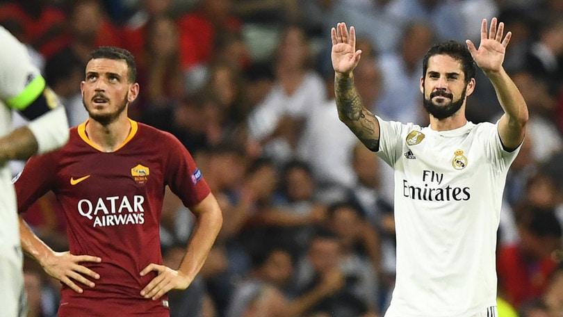 Tegola per il Real Madrid, Isco fuori un mese