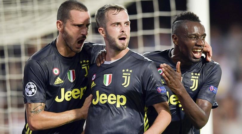 Valencia-Juventus 0-2, decidono 2 rigori di Pjanic. Ronaldo, rosso e lacrime